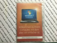 Microsoft Windows 7 Professional - 64-Bit DVD + DVD - Vollversion - Deutsch