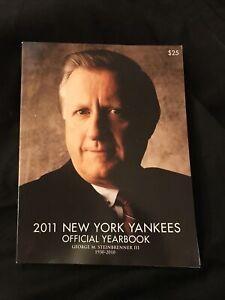 2011 New York Yankees Yearbook - R.I.P. George Steinbrenner III