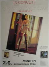 SNIFF N THE TEARS CONCERT TOUR POSTER 1980 THE GAMES UP FICKLE HEART