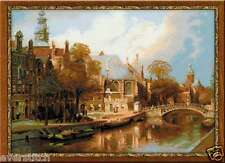 Cross stitch kit RIOLIS Amsterdam The Old Church and Church of St. Nicholas 1189