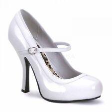 Reduziert! Funtasma Damen High-Heels Riemchenpumps Pretty-50 weiß Lack Gr 36