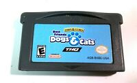 Paws & Claws:Best Friends Dogs & Cats NINTENDO GAMEBOY ADVANCE GBA GAME