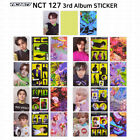 NCT NCT127 3rd Album Sticker Sticky Version Official Photocard Postcard Sticker