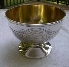 SUPERB!-Whiting Sterling AESTHETIC ENGRAVED Small BOWL-Japanesque Birds-1881