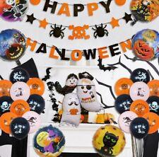 Halloween Decorations Set 🎃 large bundle UK full party kit balloons banner 🔥