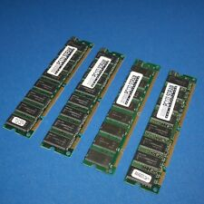 MUSHKIN SERVER MEMORY, PC133 SDRAM, LOT OF 4