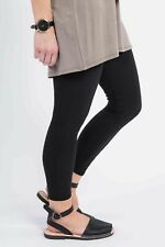 Agnes and Dora Solid Black Leggings Size XS NWT MSRP $22