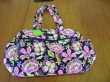 Vera Bradley Baby Bag Pirouette Pink New With Tag Multi-color