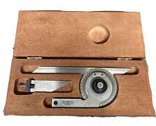 Starrett C359 Precision Universal Bevel Vernier Protractor Machinist Tool Maker