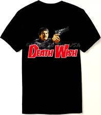 Death Wish T Shirt - 70's Classic - Charles Bronson - New