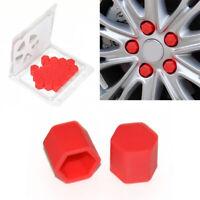 20x Rot Silikon Kappen für Peugeot 207 307 106 107 308 407 508 306 406 Partner