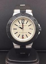 Bulgari Diagono Alluminio 38mm Argento Quadrante Data Feature Rif. AL44TA Nice