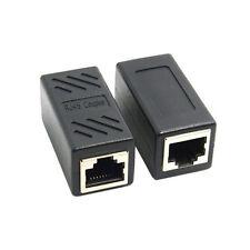 1 in2 RJ45 Splitter Adapter 1 bis Dual Female Port LAN Anschluss Adapter Koppler