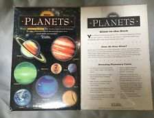 Set of Glow In The Dark Planets SOLAR SYSTEM Sticker Decal sheet