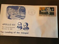 Apollo X11 1969 first man on the moon first day cover stamp