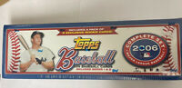 2006 Topps Baseball Factory Sealed Complete 659 Card Box Set