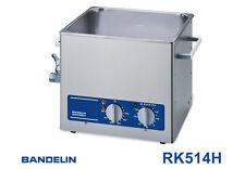 BANDELIN sonorex Super RK 514 H avec chauffage, Nettoyeur à ultrasons 13,5 litre