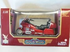 ROAD LEGENDS 1:10 scale GOLD WING MOTORCYCLE.....RED