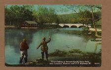 Trout Fishing at Bennett Spring State Park,Lebanon,MO Missouri, near Route 66