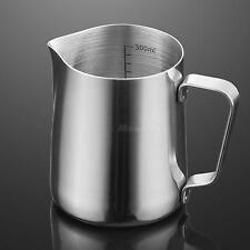 350ml Stainless Steel Coffee Blister Milk Latte Jug Coffee Foam Cup Pitcher