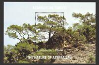 AZERBAIJAN 2017 NATURE TREE (ELDAR PINE) SOUVENIR SHEET OF 1 STAMP IN MINT MNH
