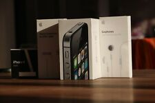 Brand New Apple iPhone 4s Black 8GB Factory Sealed Big Box And Original Bonuses