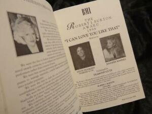 Shania Twain *1996 Songs/Writers Of The Year BMI Program! Vince Gill/Ronnie Dunn
