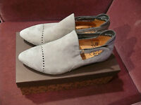 Think! IMMA individuelle slippers NEU!Gr 38 grau m.Karton NP179 pumps velours