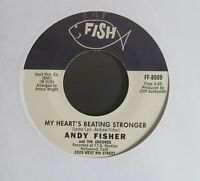 "ANDY FISHER My Heart's Beating Stronger/A Wee Bit Longer UK 7"" Single"