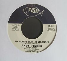 """ANDY FISHER My Heart's Beating Stronger/A Wee Bit Longer UK 7"""" Single"""