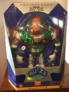 Toy Story 1998 Special Edition Holiday Hero Buzz Lightyear In Box NRFB