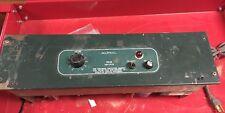 Altec Lansing 1593B Rackmount 50 Watt Solid State Class A Power Amplifier As-Is