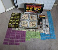Stop Thief Board Game 1979 Electronic Cops And Robbers Parker Brothers AS IS