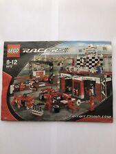 Lego 8672 Ferrari Finish Line. 100% bolsas sin abrir, con receta, no box.