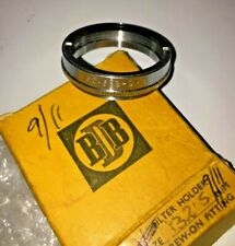 32.5mm BDB Metal Filter Holder with Retainer Ring - Screw-on Fitting
