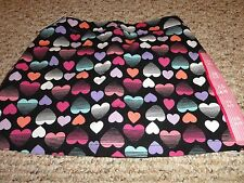 NEW GIRLS MULTI-COLOR HEART SKORT IN SIZE X-SMALL 4/5