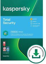Kaspersky Total Security  2021,  1 2 3  5  oder 10 Geräte 1 oder  2 Jahren