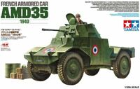 Tamiya 32411 1/35 Scale Military Model Kit WWII French 4x4 Armored Car AMD35