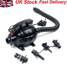 Air Electric Track Airbeds Pump Shaped 3 Nozzles British-Standard