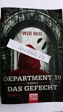 Department 19 Das Gefecht Will Hill Fantasy Roman Bastei Lübbe Taschenbuch 2013