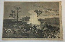 Jan 2, 1864 magazine engraving~ARMY OF THE CUMBERLAND Missionary Ridge