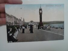 Vintage Postcard CLOCK TOWER WEYMOUTH - Colour Tinted Nostalgic View    §A618