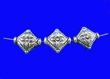 60 Perles Spacer Losange 8x10mm