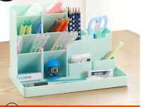 New Plastic Desk Organizer Large Capacity Office Supplies Storage Unit File Rack