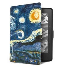 Auto Wake Sleep Van Gogh Oil Painting Case Cover For Amazon Kindle Paperwhite