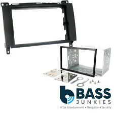 Mercedes Benz Viano 2006 On W639 Stereo Double Din Facia Panel Cage Kit CT24MB16