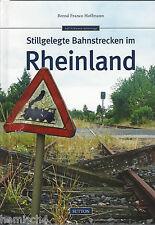 Stillgelegte Bahnstrecken im Rheinland