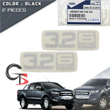 """Pair Sticker """" 3.2 6 Speed """" Decal Fits Ford Ranger T6 Mk2 Wildtrak 2012 2015 17"""