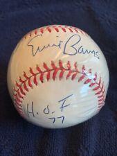 Ernie Banks HOF 77 Autographed ONL Baseball w/COA & Photos Vintage