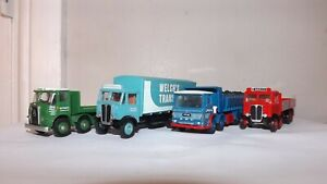 UNBOXED 4 X EFE TRUCKS 1:76 SCALE